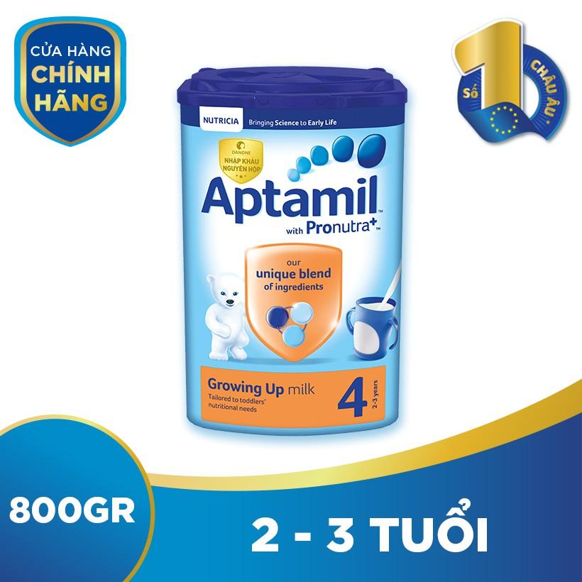 Sữa bột dinh dưỡng công thức Aptamil số 4 (800g)...