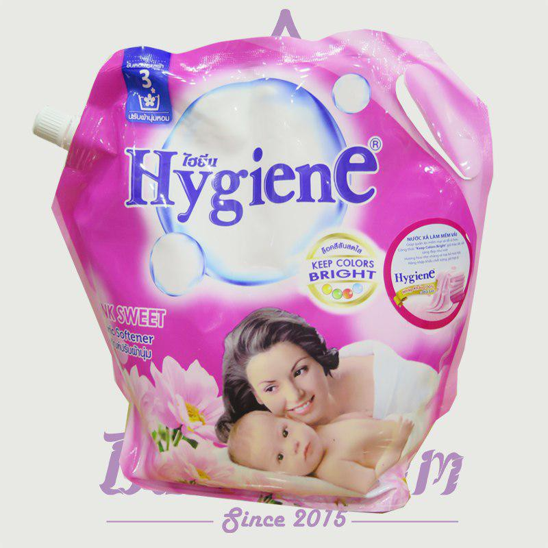 Nước xả mềm vải Hygiene hương hoa hồng