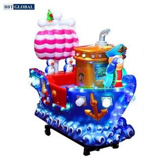 Đồ chơi nhún điện cho bé hình tàu thủy BBT Global NDNK-1046