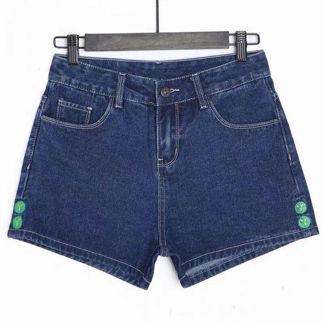 Quần shorts Jean Nữ Cá Tính