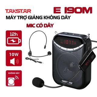 Chính hãng Takstar E190M loa mic Máy trợ giảng, loại không dây, mini, sạc nhanh, hướng dẫn viên, Giáo viên thumbnail