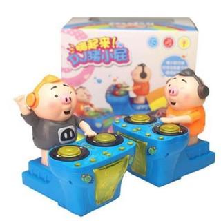 [VIDEO + ẢNH THẬT] Đồ chơi lợn DJ cho bé .QB