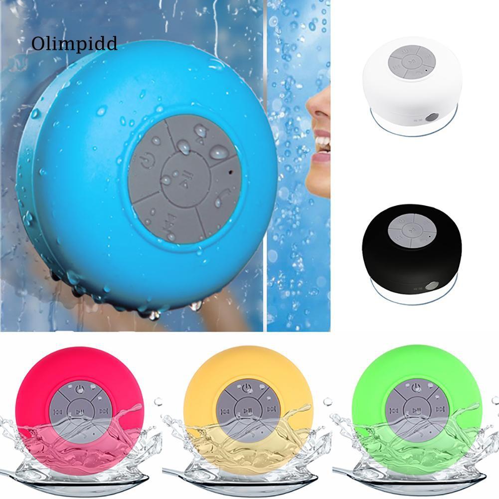 Loa Bluetooth không dây chống nước có núm hít chân không
