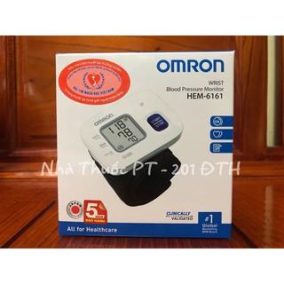 Máy đo huyết áp cổ tay Omrom 6161