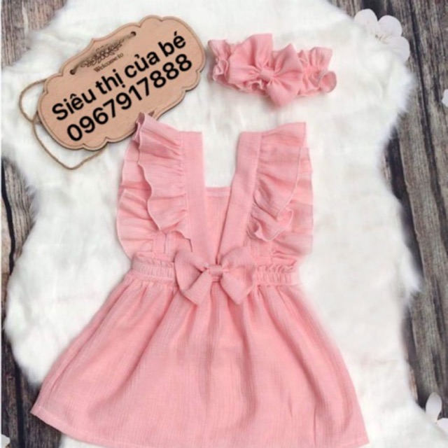 Váy thiết kế cho bé gái 0-8 tuổi