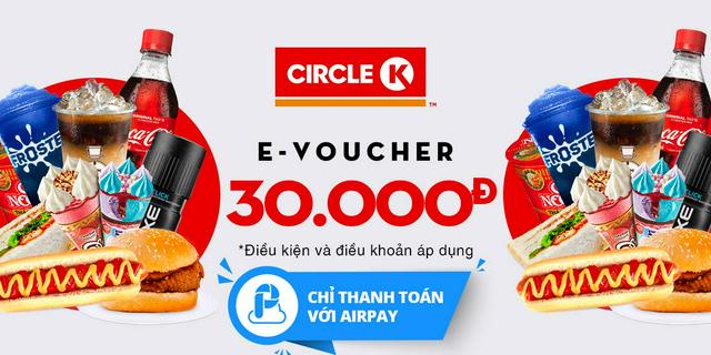 Hình ảnh E-Voucher trị giá 30.000đ tại hệ thống cửa hàng Circle K-0