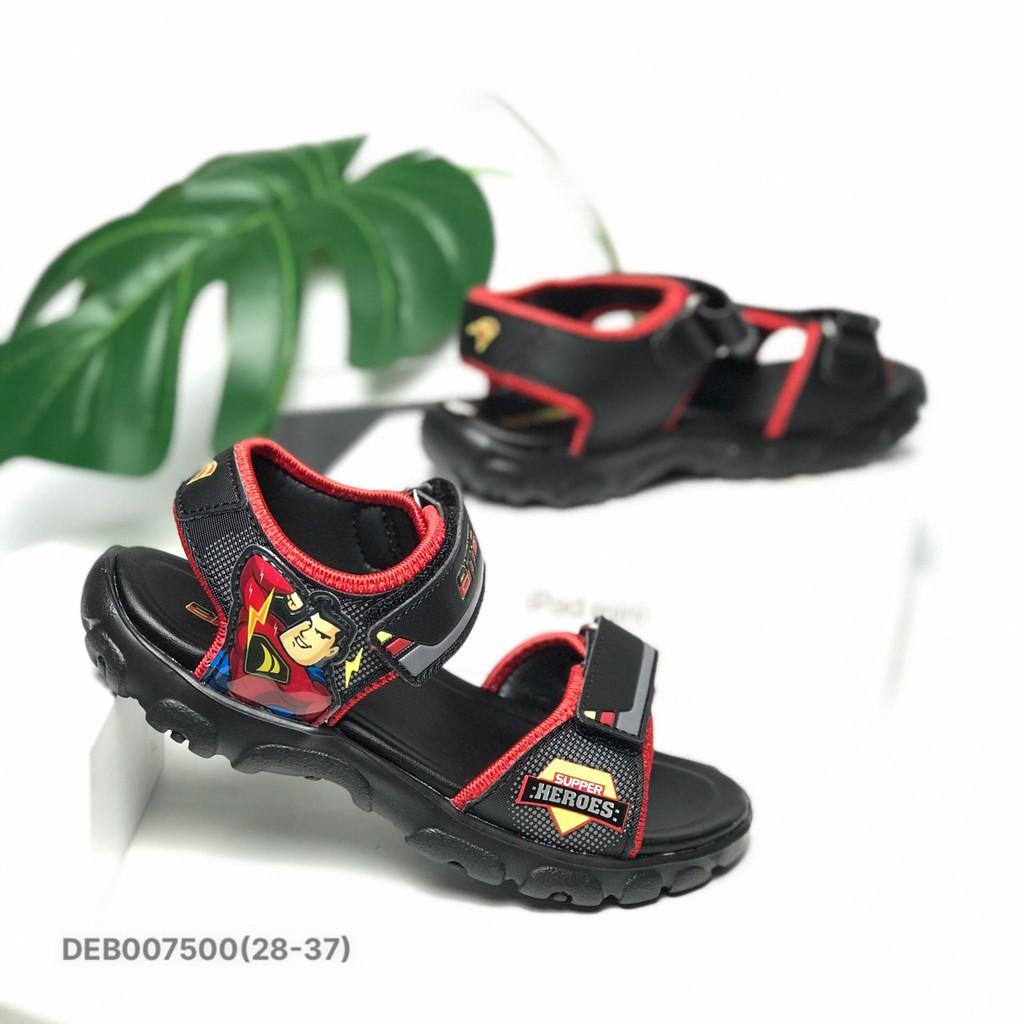 Sandal bé trai BlTIS 28-37 ❤️FREESHIP❤️ Dép quai hậu học sinh siêu nhân đế siêu nhẹ DEB007500