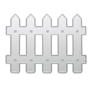 Khuôn cắt giấy kim loại hình hàng rào nhỏ xinh