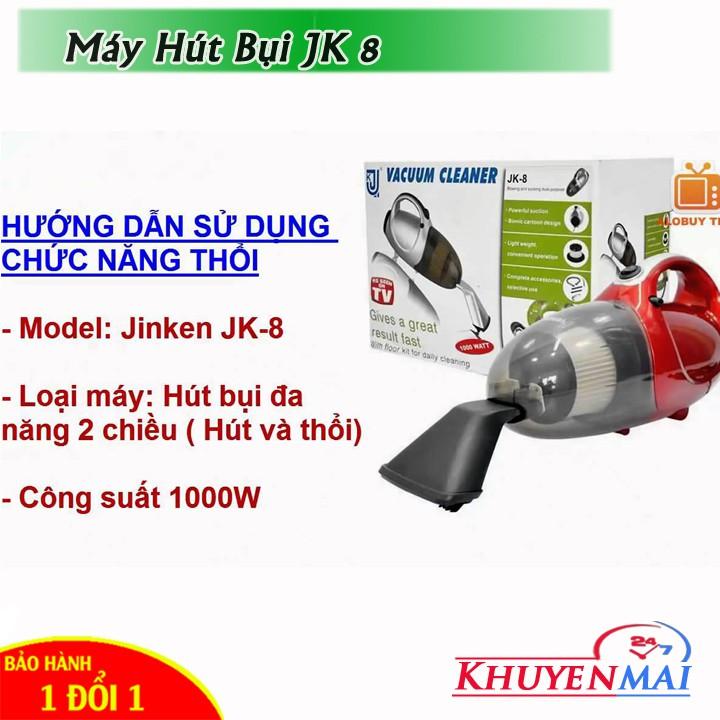 Máy Hút Bụi 2 chiều mini Vacuum Cleaner JK-8 - 2560646 , 1069676342 , 322_1069676342 , 375000 , May-Hut-Bui-2-chieu-mini-Vacuum-Cleaner-JK-8-322_1069676342 , shopee.vn , Máy Hút Bụi 2 chiều mini Vacuum Cleaner JK-8