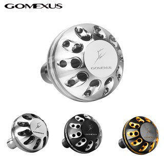 Gomexus Handle Knob of alloy used for Shimano Daiwa Ryobi Spinning Baitcasiting Fishing Reel A32-A41 (32-41mm) thumbnail