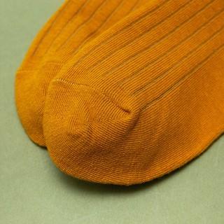 Hình ảnh Vớ tất cổ cao gân trơn nam nữ GENZ nhiều màu phong cách vintage - ZA014-2
