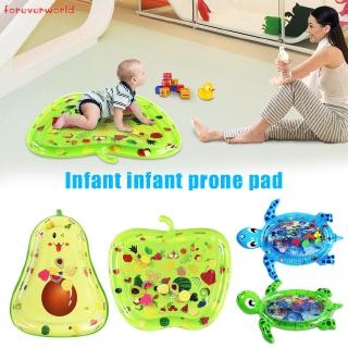 ♣✨♣ Water Filled Baby Inflatable Patted Pad Water Cushion Playmat Safe for Kids Children
