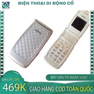 HÀNG HIẾM Điện thoại cổ Nokia 2650 TRẮNG HÀNG HIẾM ,Zin Nguyên Bản TẶNG KÈM PIN VÀ SẠC - BH 12 THÁNG 1 ĐỔI 1 THÁNG ĐẦU thumbnail