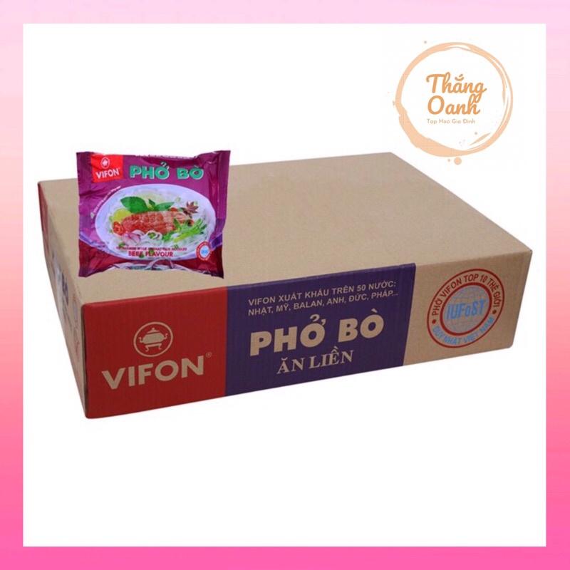 Phở Bò ViFON ( 30 gói) - Ảnh Thật