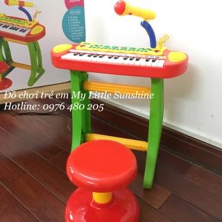 Đàn piano có micro cho bé M02 (green)