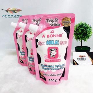 Combo 3 Bịch - Muối Tắm Sữa Bò Tẩy Tế Bào Chết A Bonne Spa Milk Salt thumbnail