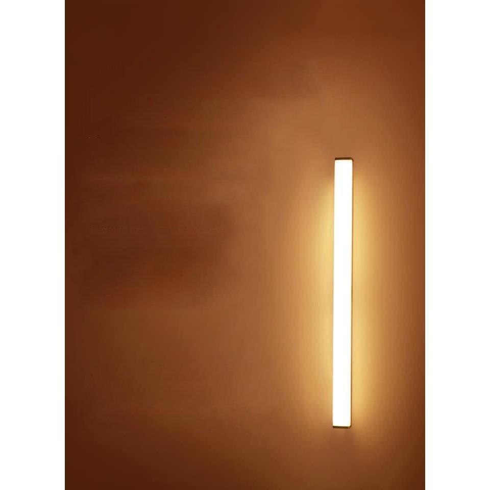 [ TỰ ĐỘNG BẬT TẮT ] 60 LED Đèn Led Cảm Biến Thông Minh Tự Động Bật Tắt Dán Cầu Thang Phòng Ngủ Kệ Tủ Kệ Bếp