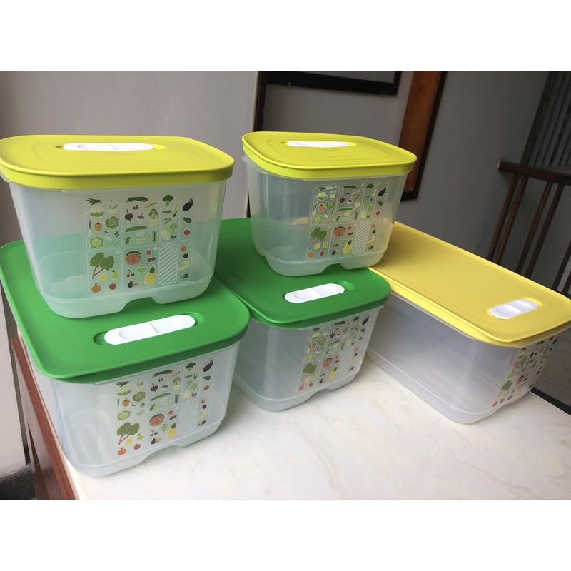 Lẻ hộp trữ rau củ quả ngăn mát Vensmart 375ml / 800ml /  1.8L / 4.4L / 6.1L Tupperware