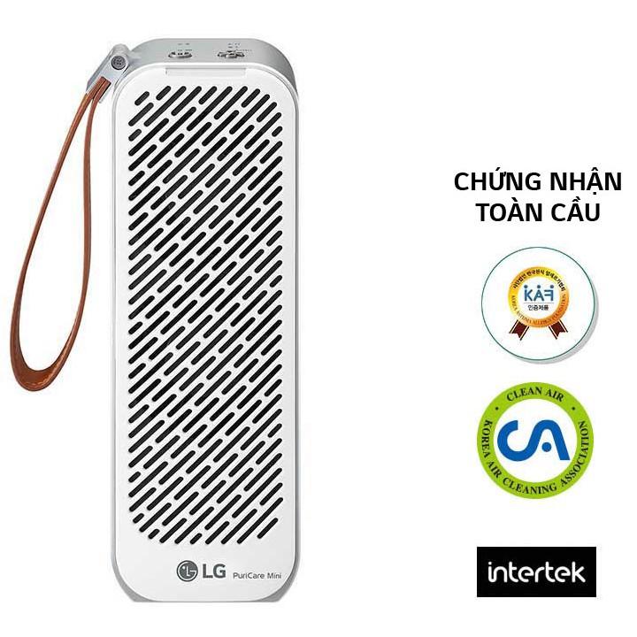 [Mã ELHAXU10 hoàn tối đa 1 Triệu xu] Máy lọc không khí LG PuriCare mini AP151MBA1 | AP151MWA1 (Hàng chính hãng)
