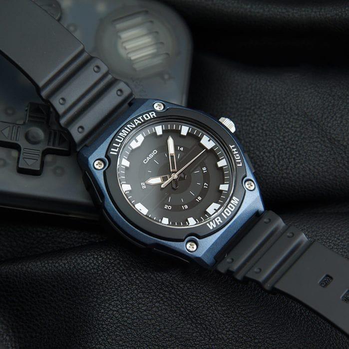 Đồng hồ Casio Nam MWC-100 chính hãng bảo hành 1 năm Pin trọn đời