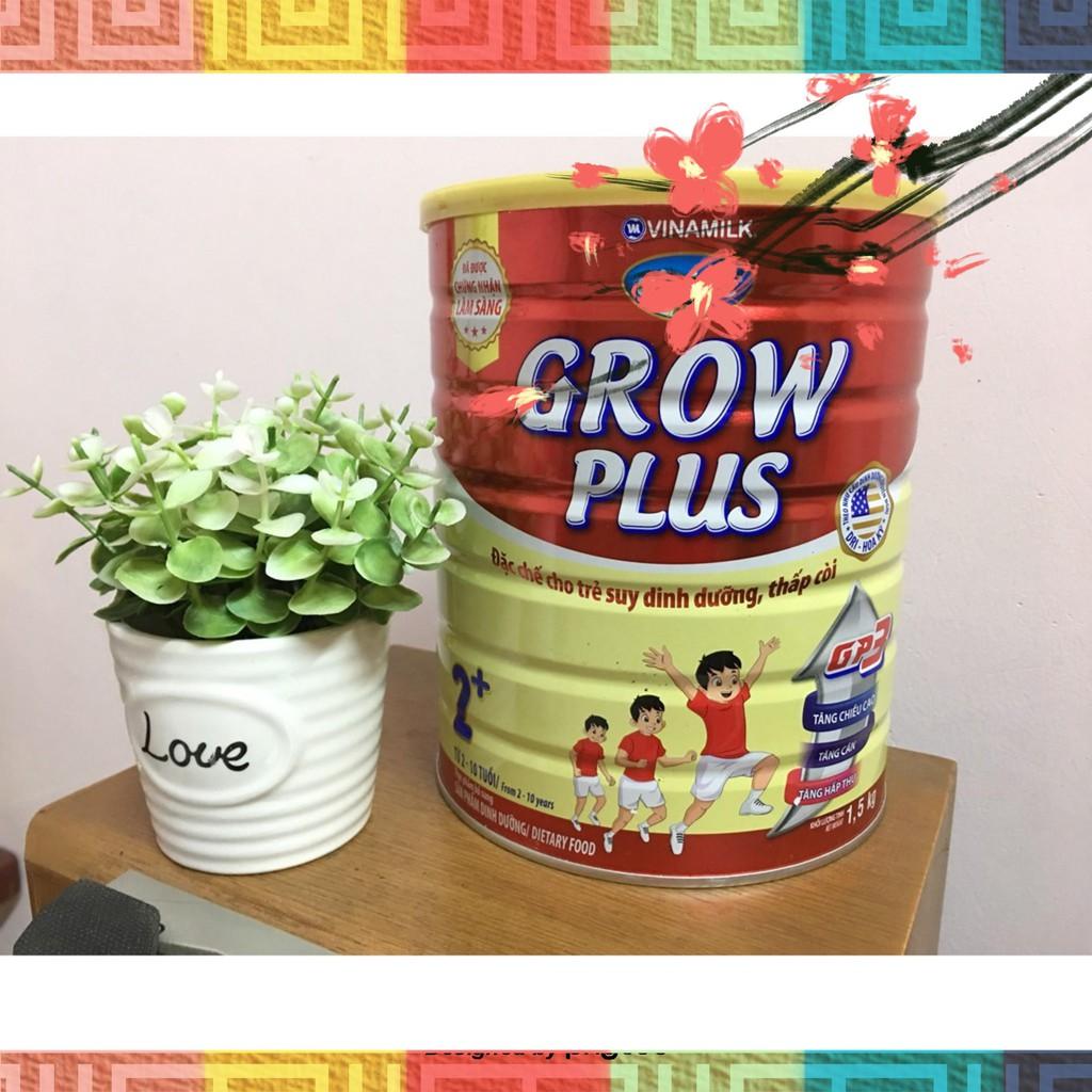 Sữa Bột Dielac Grow Plus 2+: Hộp Thiếc 1.5kg