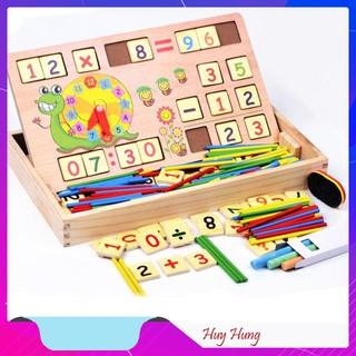 [SẬP GIÁ SỈ = LẺ] Đồ Chơi Toán Học Có Chữ Số , Que Tính, Bảng Viết Cho Trẻ Em