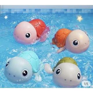 DEAL SỐC GIÁ SỐC- HOT- Rùa bơi vặn cót đồ chơi phòng tắm cho bé