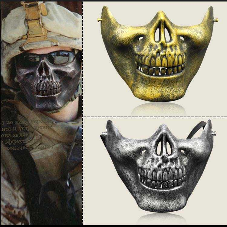 ┅✚▣Mask cosplay wigs for men and women ghost skulls hand-painted DIY terrorist trill scary clown makeup items