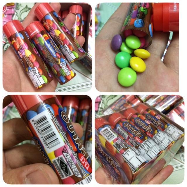 | 3 Lọ Kẹo Thái| Kẹo Lọ Abacus Mini Chocolate Candy 10g