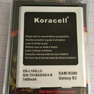 Pin koracell Samsung galaxy S3 I9300 (EB-L1G6LLU) thumbnail