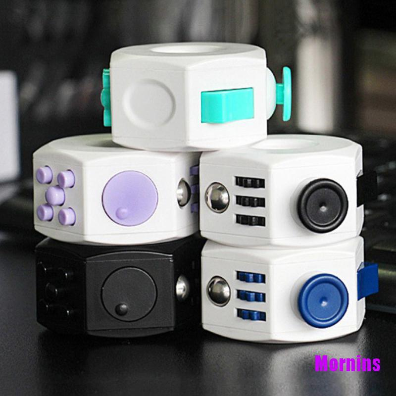 Mornin☪Decompression Cube Toy Anti Stress Anxiety Relief For Kids Adults Accessories