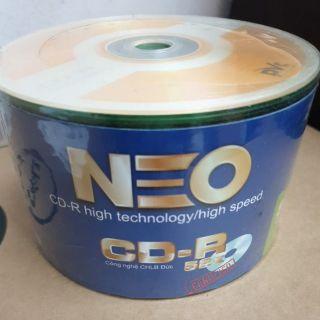 Đĩa CD-R Neo (Lốc 50 đĩa)