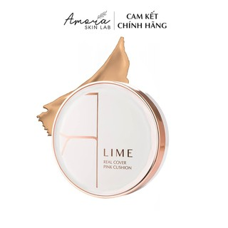 Phấn Nước Lime Real Cover Pink Cushion SPF 50+ PA+++ (20g) - Che Phủ Hoàn Hảo, Kiềm Dầu Tuyệt Đối thumbnail
