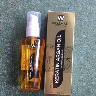 Serum dưỡng tóc wellmate karatin argan oil thumbnail