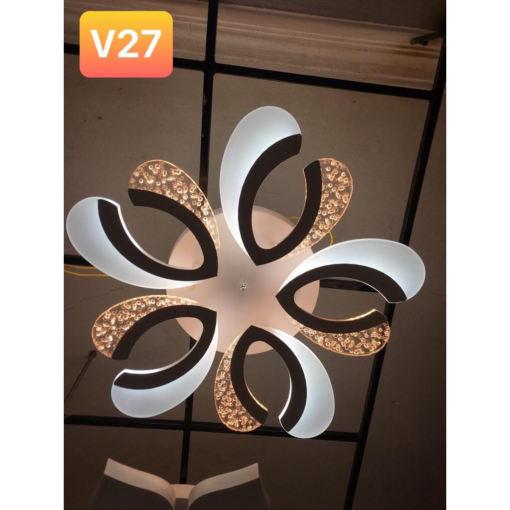 Đèn trần LED mâm MONSKY 3 màu ánh sáng OSIA có điểu khiển từ xa tiện dụng dùng cho trang trí phòng khách, phòng ngủ