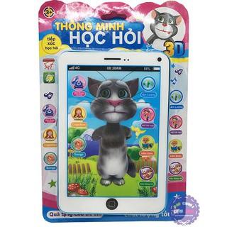 (bhav) Đồ Chơi ipad Mèo Tôm Thông Minh loại to (tặng 4 quả pin tiểu AAA) Siêu Dễ Thương Siêu Rẻ thumbnail