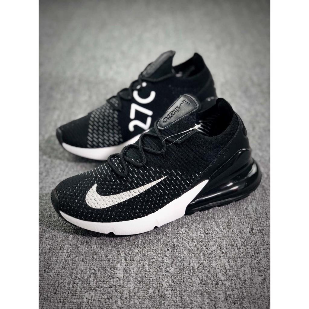 Nike SpotShot Thao Đen Đệm Màu Flyknit Chạy Nam Thật Air Không Khí Thể Thường Giày Bộ Max 270 dshQtr