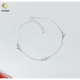 Lắc chân bạc Ý 925 Huệ Ngân - Ngôi sao may mắn RYBJ50118