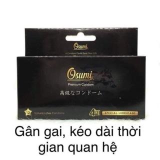 Bao cao su Osumi Nhật , gân gai kéo dài thời gian thumbnail