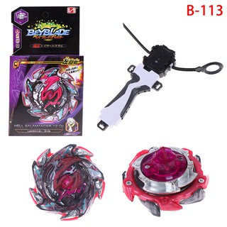 Beyblade burst B-113 starter set with launcher grip kids gift toys