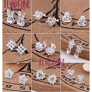 Bông tai, hoa tai nữ Florine mẫu đẹp phong cách Hàn Quốc HT001, khuyên tai, nụ dễ thương nhẹ nhàng cá tính cho bạn gái thumbnail