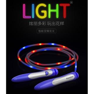 dây nhảy có đèn led phát sáng