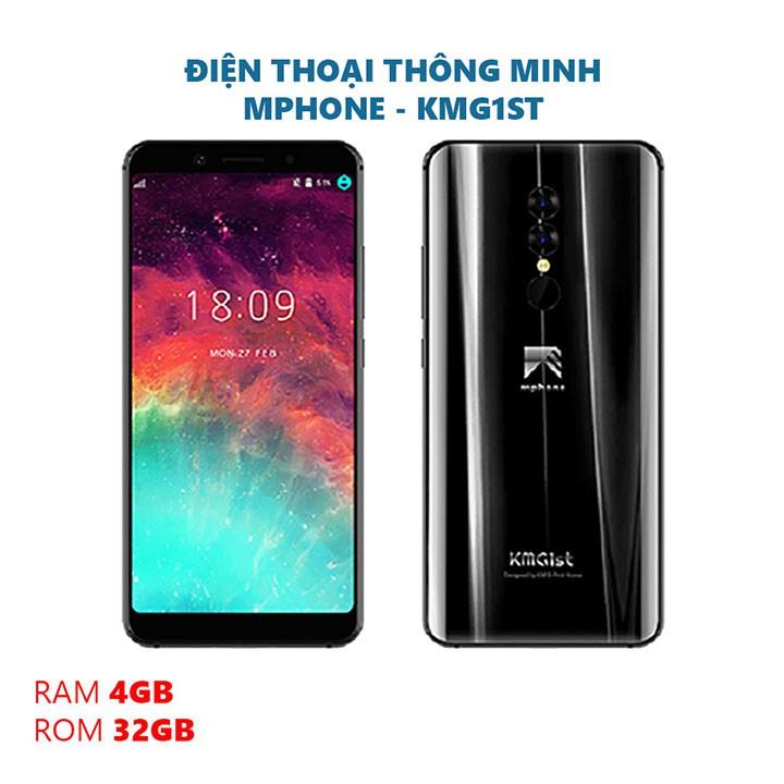 Điện thoại MPhone RAM 4GB ROM 32GB Pin 3800mah camera 13MP, 5MP, 8MP, có FaceID và vân tay