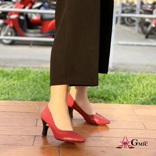 Giày Cao Gót Thời Trang GMIC Cao 7P Cao Cấp Chất Lượng Giày Cao Gót Mũi Nhọn Kiểu Viền Hong sang Trọng NH638 thumbnail