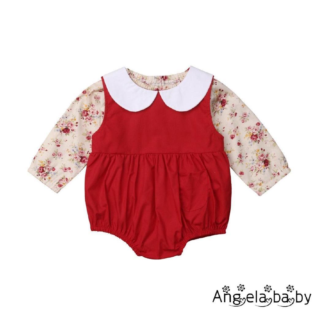 Bộ áo thun kèm áo liền quần đáng yêu xinh xắn cho bé gái
