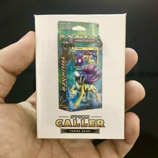 [BÀI IN] Storm Caller – Pokémon Theme Deck