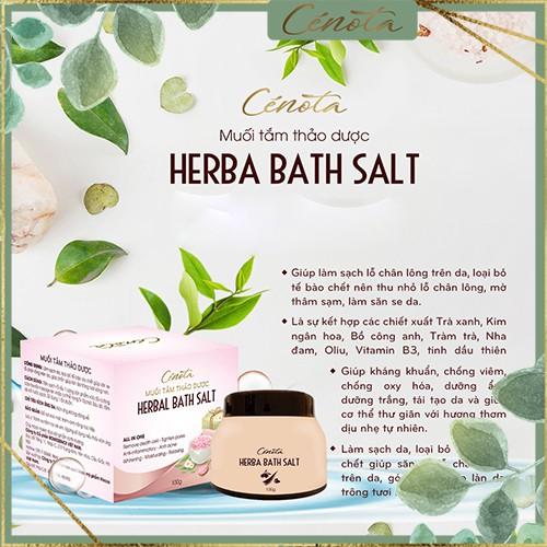 Muối tắm thảo dược tự nhiên, muối tắm thảo dược làm sạch lỗ chân lông - C02 buny
