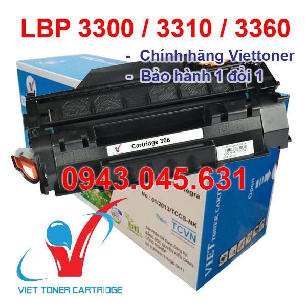 Hộp mực dùng cho máy in Canon LBP 3300 - Cartridge 308 - 49A mới 100% [Fullbox]