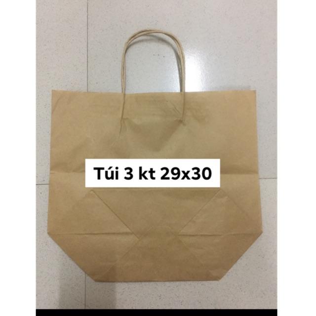 Combo 50/100 túi có quai kt 29x30