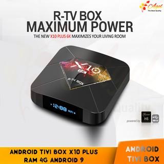 Android tivi R-TV X10 Plus 4GB RAM 32GB ROM android 9.0 cài sẵn ứng dụng giải trí miễn phí vĩnh viễn